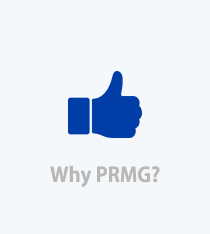 Why PRMG link, Blue Thumbs up image